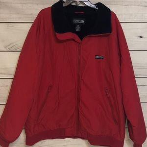 Land's End Polartec Jacket Mens Tall Size 2XL